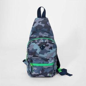 Cat & Jack Kids Boys Sling Crossbody Bag Camo